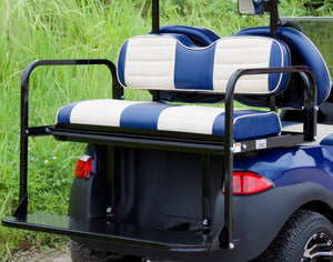 Club Car Precedent Blue w/ Two Tone Seats - $5,700