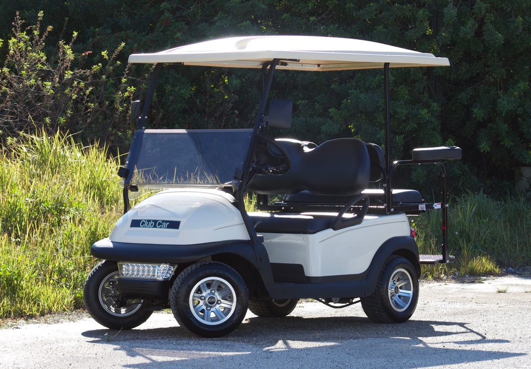Club Car Precedent Off White w/ Black Seats - $5,500