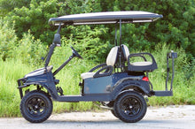 "Load image into Gallery viewer, Club Car Gas ""Phantom"" Metallic Black w/ Tan Seats - Lifted - $9,200"