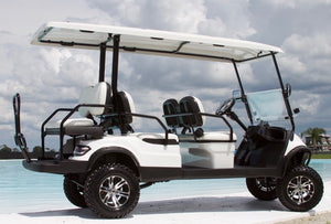 ICON i60L - Arctic White with White Seats - Lifted - $10,495