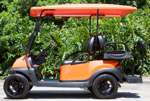 Club Car Precedent Orange w/ Black Seats - $8,000