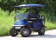 Load image into Gallery viewer, Club Car Precedent Navy w/ Two Tone Seats - Lifted - $6,900