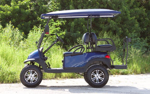 Club Car Precedent Navy w/ Two Tone Seats - Lifted - $6,900