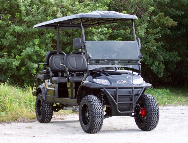 ICON i60L Black Rims/Tinted Windshield - Lifted-$10,995