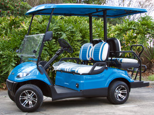 ICON i40 Carribean Blue with Two Toned Seats - $7,595