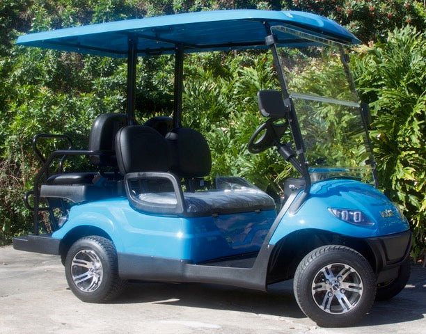 ICON i40 - Carribean Blue with Black Seats - $8,100
