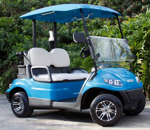 ICON i20 - Carribean Blue with White Seats - $7,295