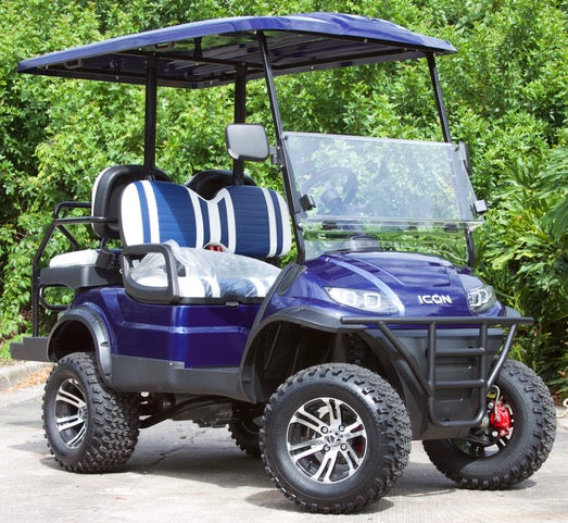 ICON i40L - Indigo Blue Metallic with Two Tone Seats - Lifted - $8,845