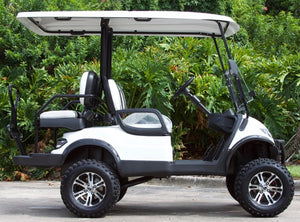 ICON i40L - Arctic White with Two Tone Seats - Lifted - $8,350