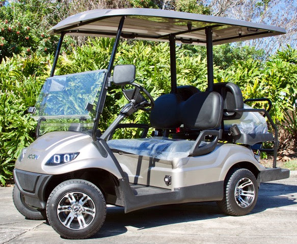 ICON i40 Champagne with Black Seats - $8,100