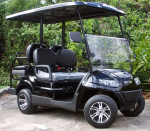 ICON i40 - Metallic Black with Black Seats - $7,595