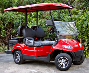 ICON i40 - Torch Red with Black Seats - $7,595