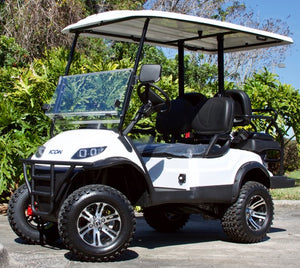 ICON i40L - Arctic White with Black Seats - Lifted - $8,350