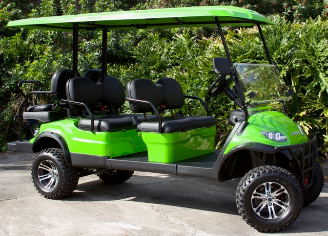 ICON i60L - Limegreen with Black Seats - Lifted - $9,995