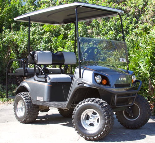 EZGO Express S4 Graphite with Two Tone Seats - $8,600