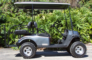 EZGO Express S4 Graphite with Two Tone Seats - $7,100