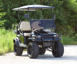 "Club Car Gas ""Phantom"" Metallic Black w/ Tan Seats - Lifted - $9,200"