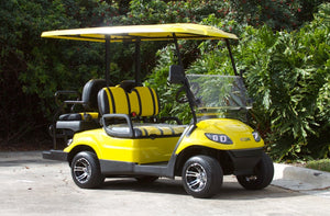 ICON i40 Yellow with Alt Two Tone Seats - $8,100