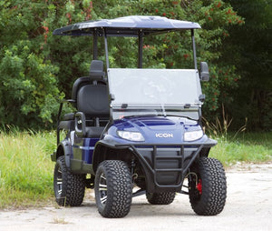 ICON i40L Indigo Blue with Black Seats- Lifted - $8,350