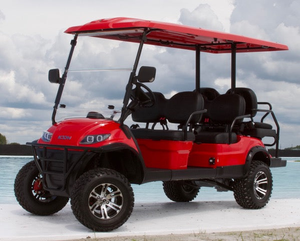 ICON i60L - Torch Red with Black Seats - Lifted - $9,995