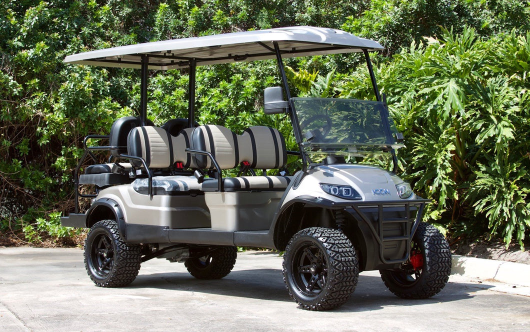 ICON i60L Champagne with Two Tone Seats - Lifted - $10,995