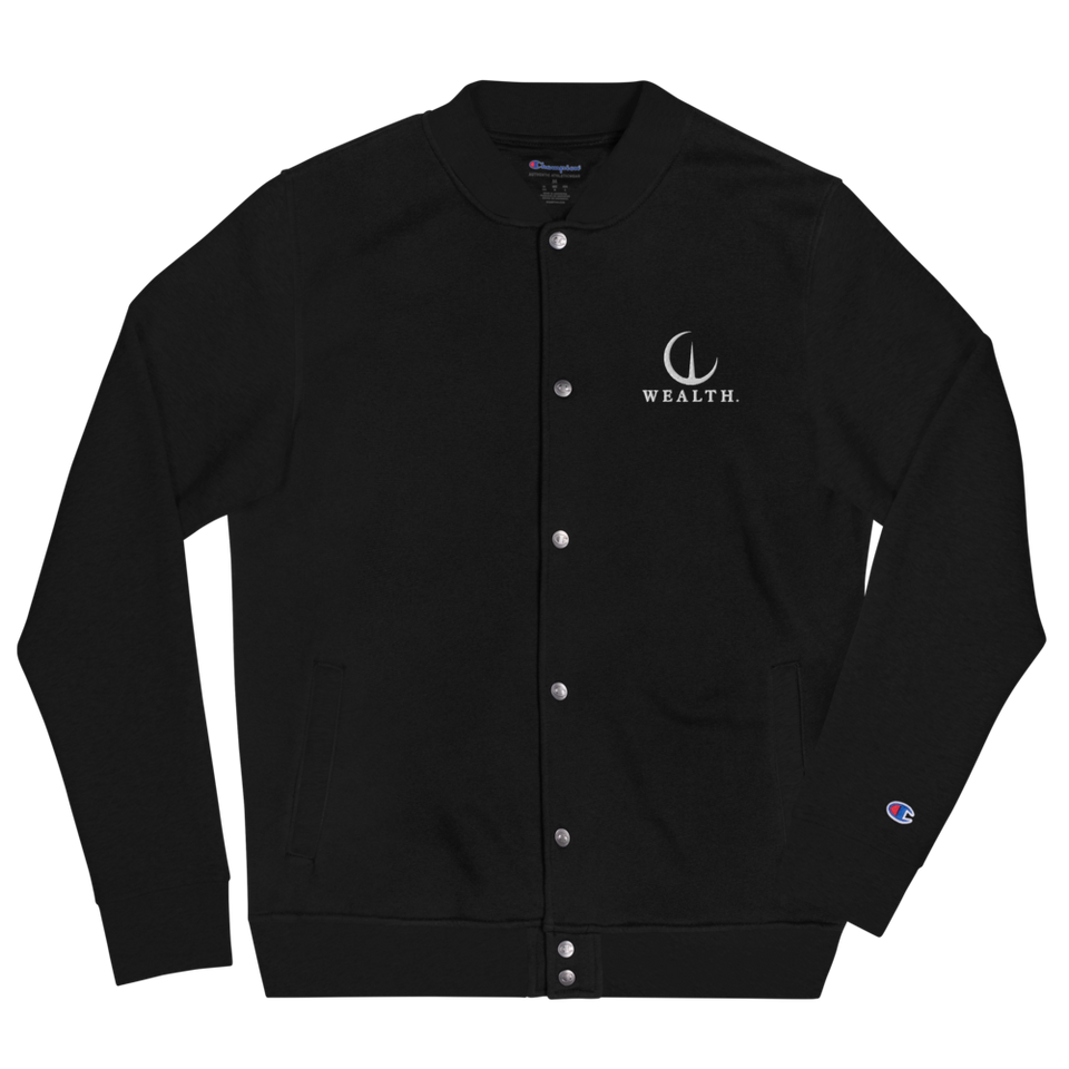 Official Wealth Embroidered Champion Bomber Jacket