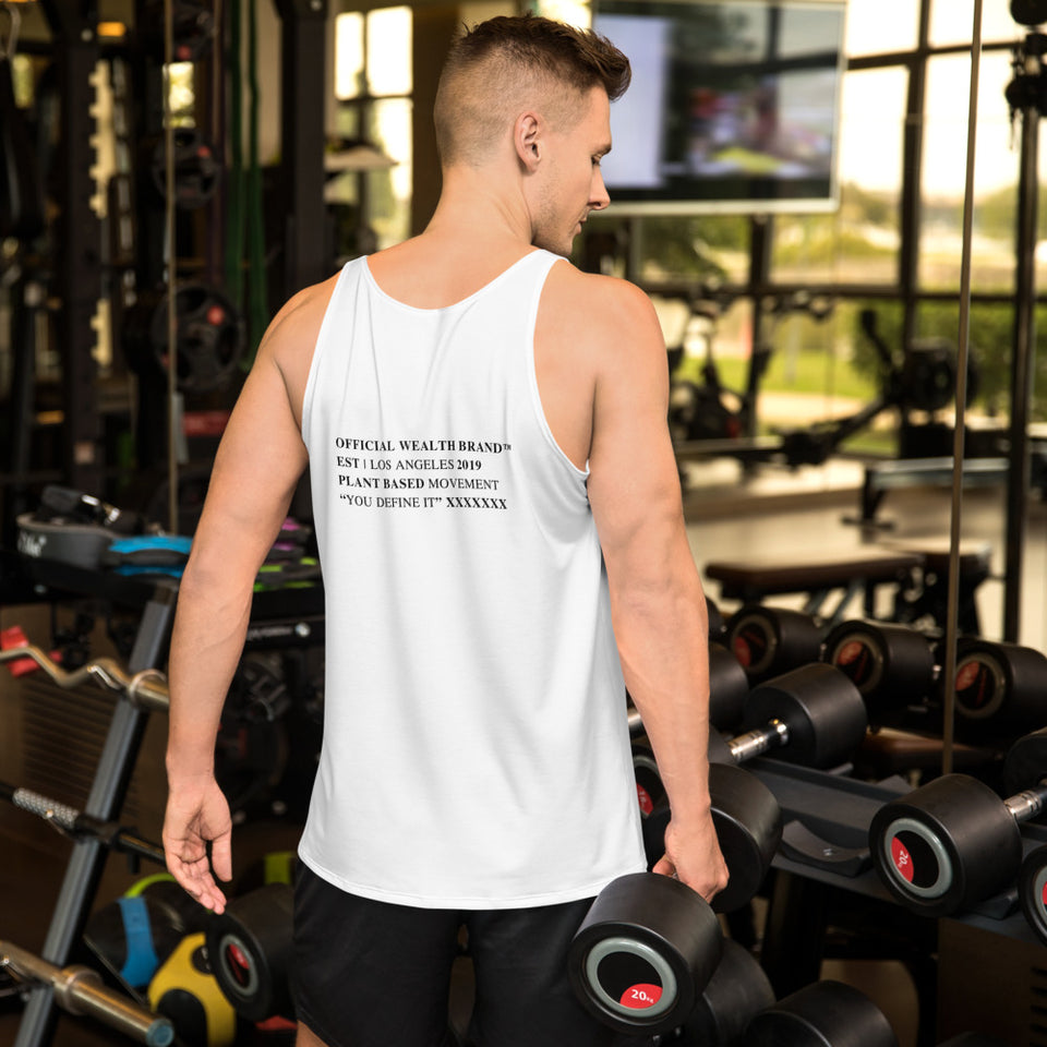 WEALTH Unisex Tank Top