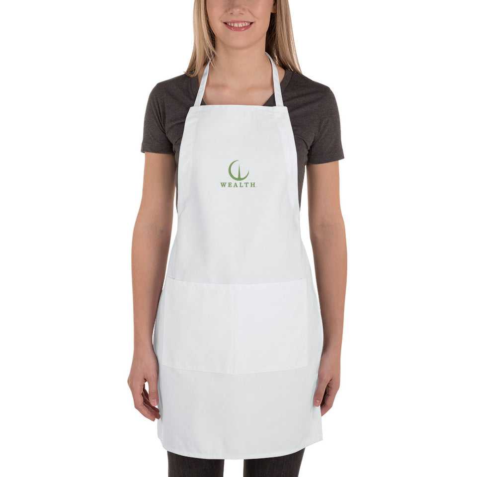 WEALTH Embroidered Apron