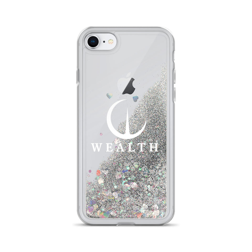 Official WEALTH Liquid Glitter Phone Case