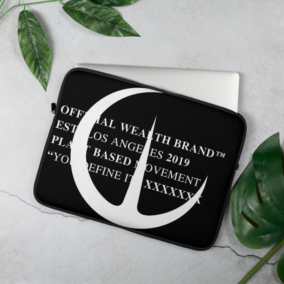 Wealth Laptop Sleeve