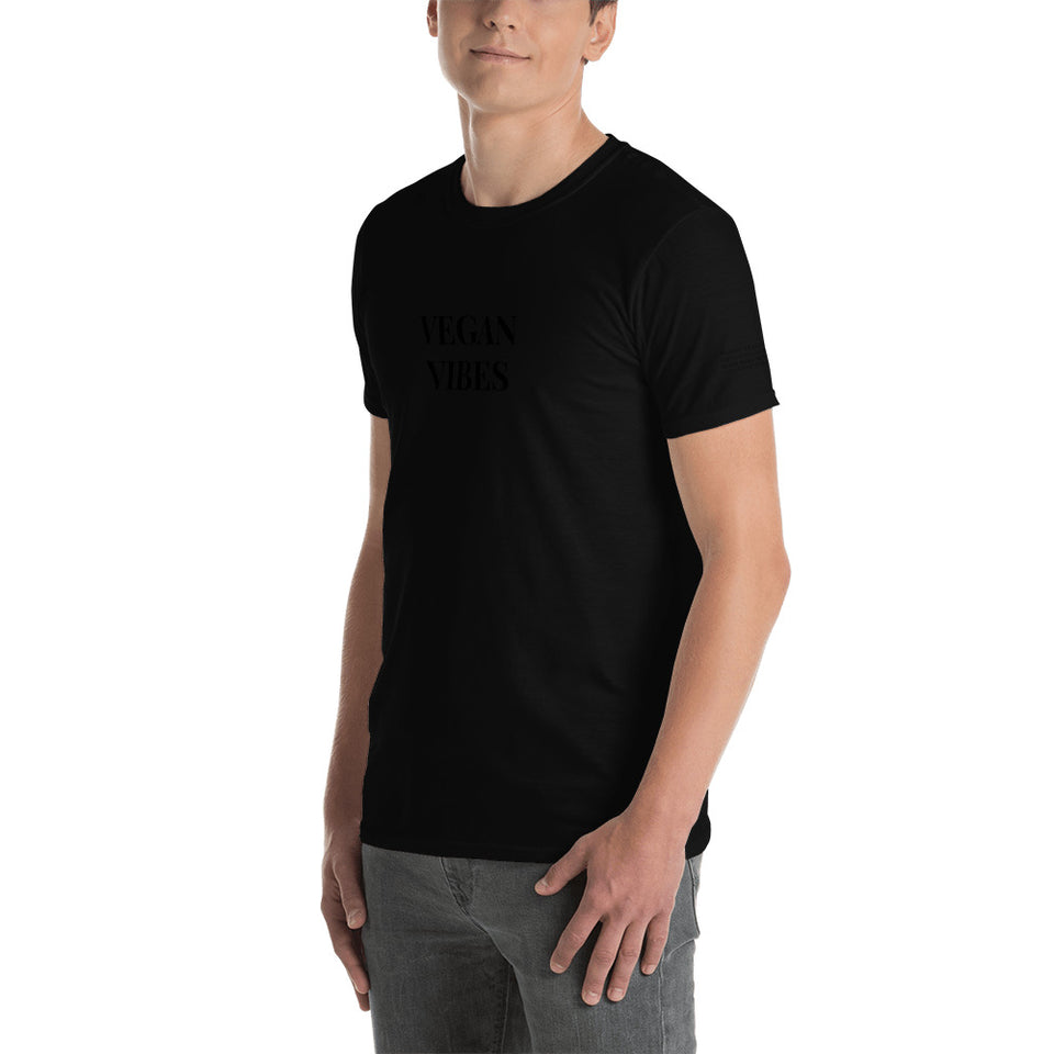 VEGAN VIBES Short-Sleeve Unisex T-Shirt