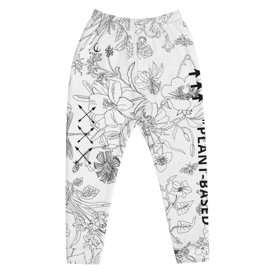 "WEALTH ""PLANT-BASED"" Men's Joggers"