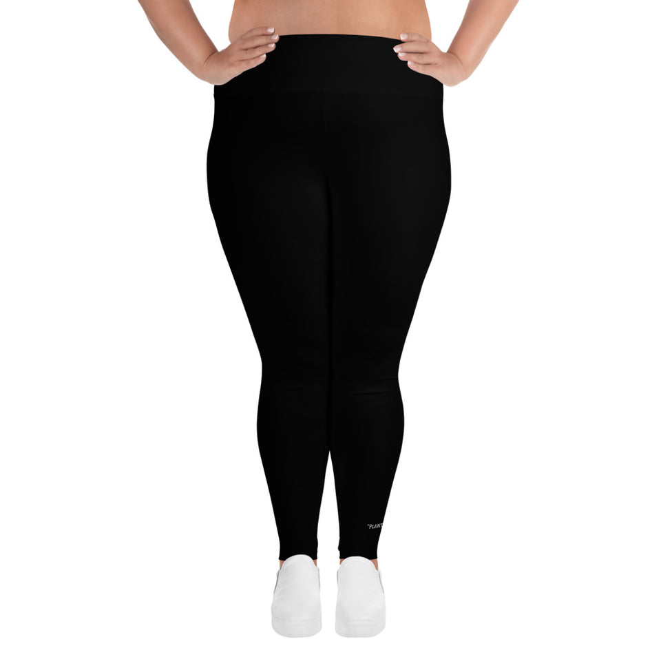 WEALTH Black Plus Size Leggings