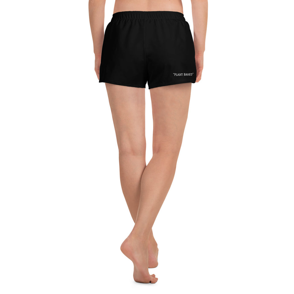 WEALTH Black Women's Athletic Short Shorts