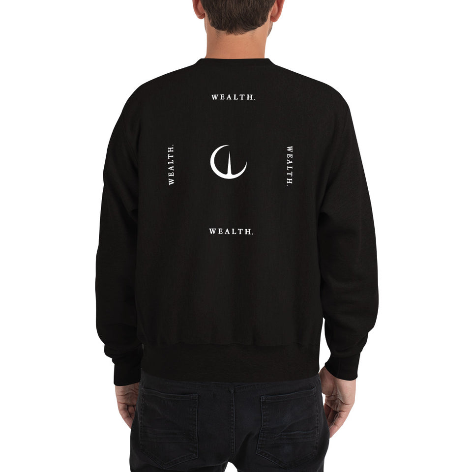 Official WEALTH Champion Sweatshirt