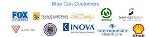 Blue Can Clients and Customers