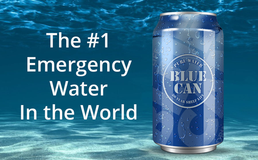 Aluminum Emergency Canned Water