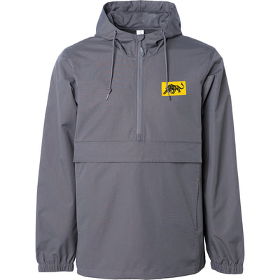 The Aggrolites - Logo & Panther - Windbreaker Jacket - Graphite
