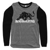 The Aggrolites - Aggropanther - Grey & Black - Baseball Tee