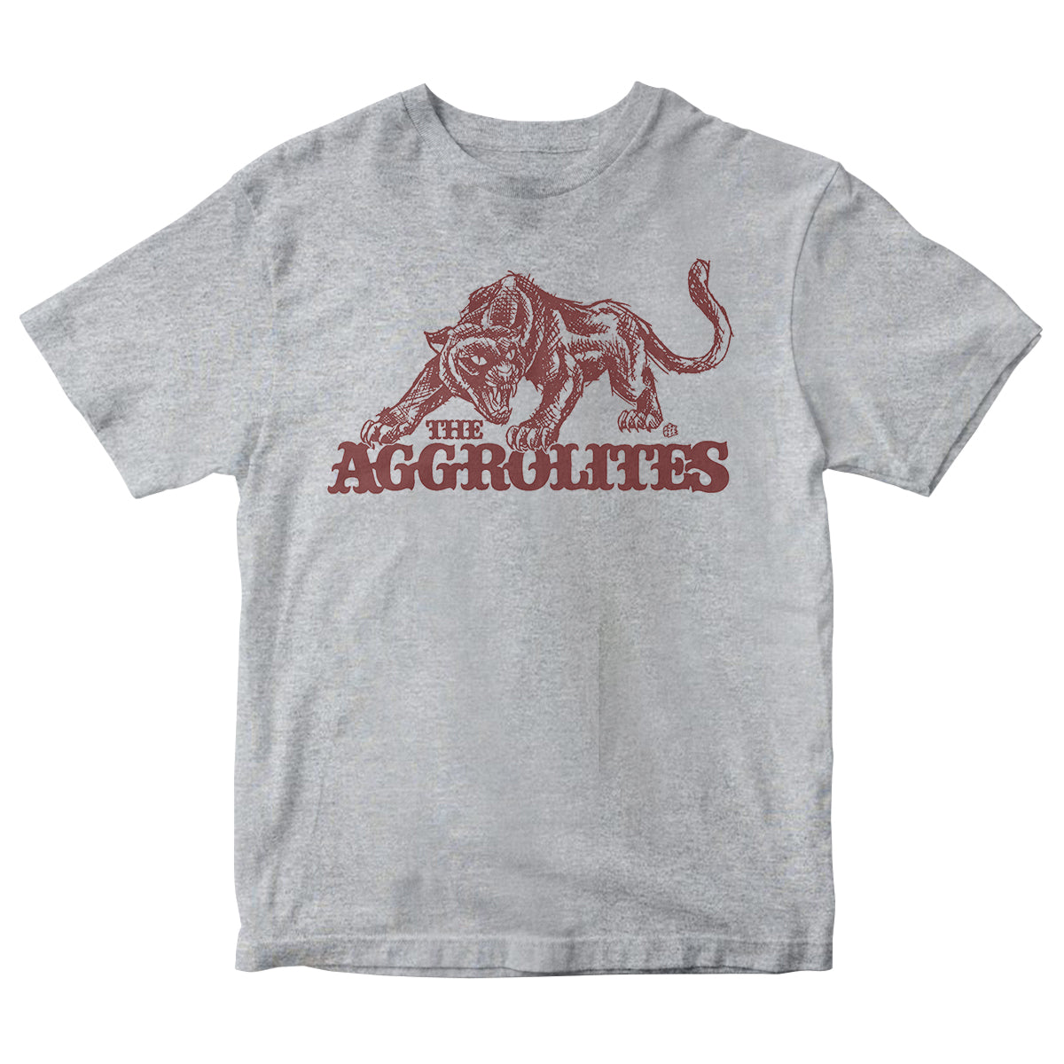 The Aggrolites - Aggropanther - Grey - T-Shirt