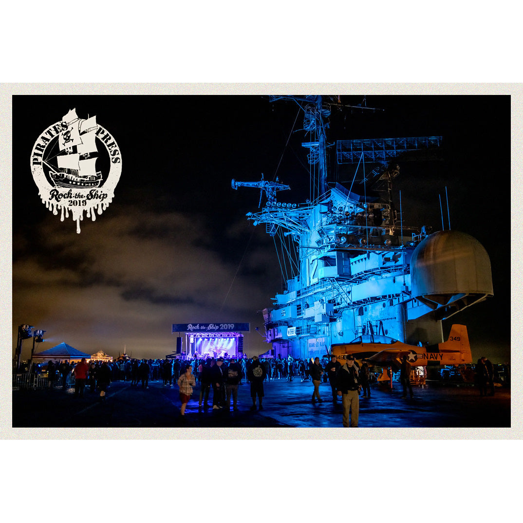 "ROCK THE SHIP - Collectable Photo Print (18"" x 12"")"