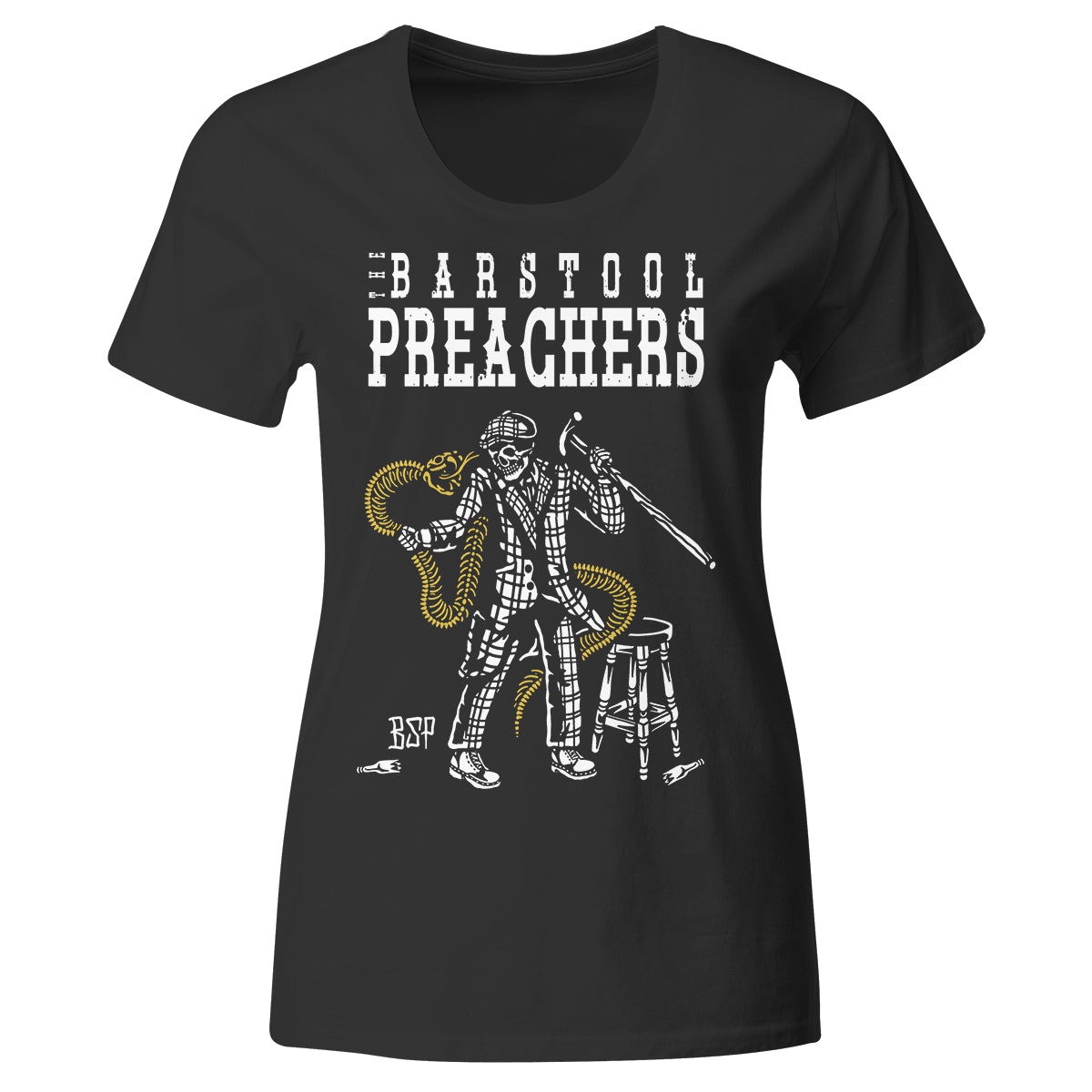 The Bar Stool Preachers - Fight To Stay Free - T-Shirt - Fitted