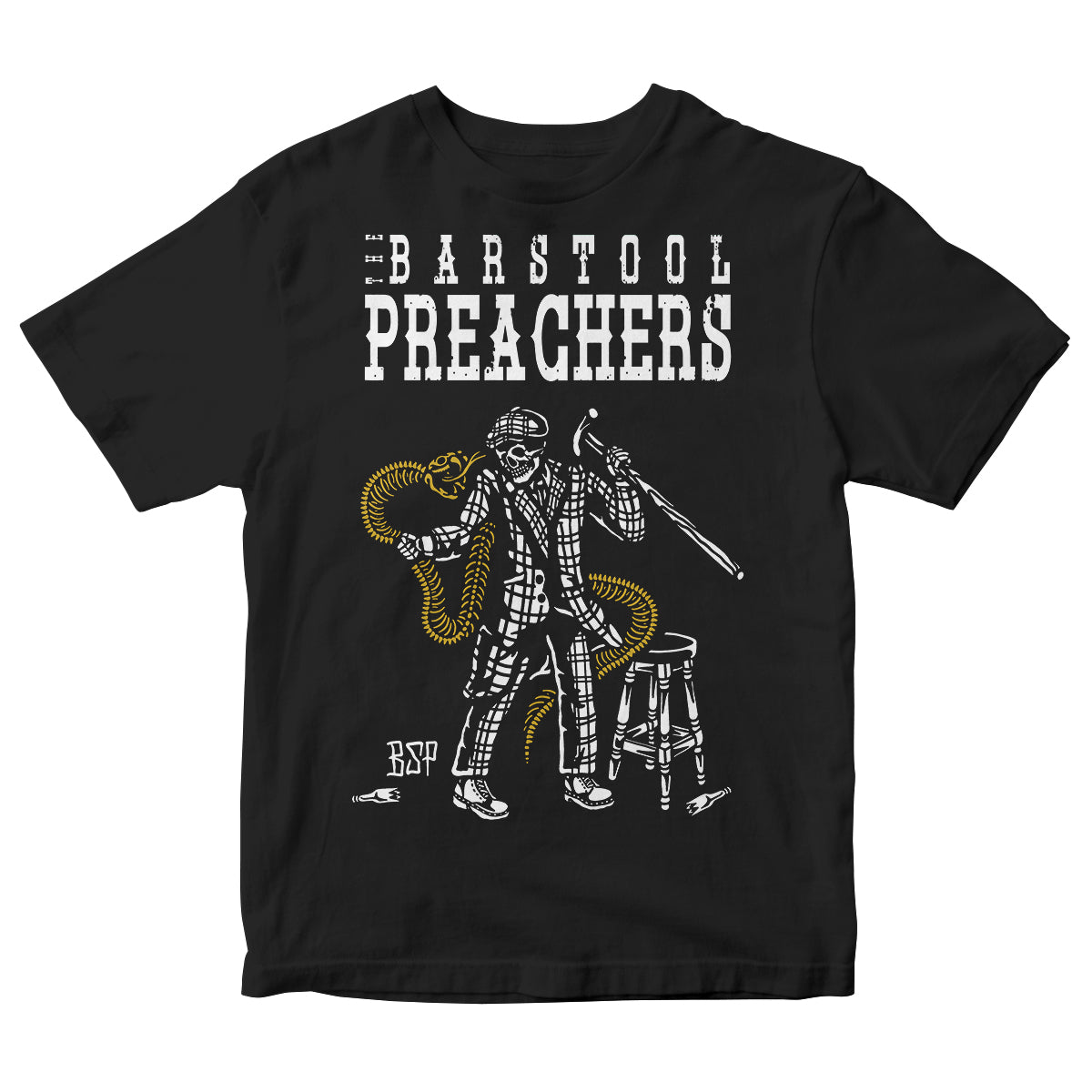 The Bar Stool Preachers - Fight To Stay Free - T-Shirt