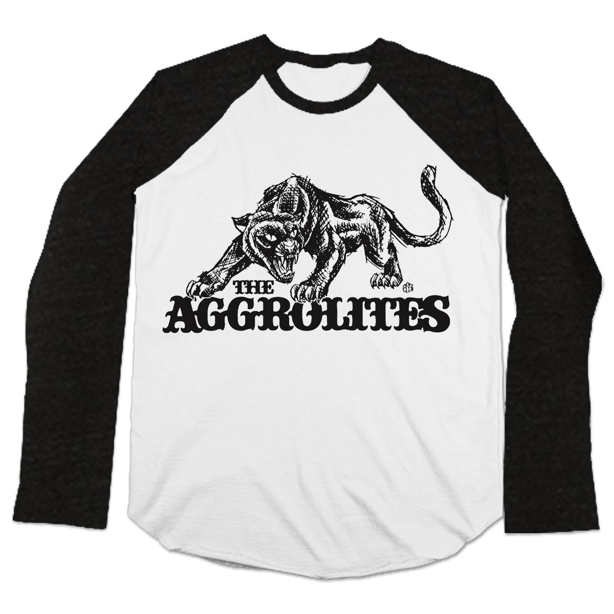 The Aggrolites - Aggropanther w/ Reggae Now! Panelled - Baseball Tee
