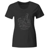 Pirates Press Records - Bottle - White on Black - T-Shirt - Fitted