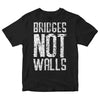 Lenny Lashley's Gang of One - Bridges Not Walls - Black - T-Shirt