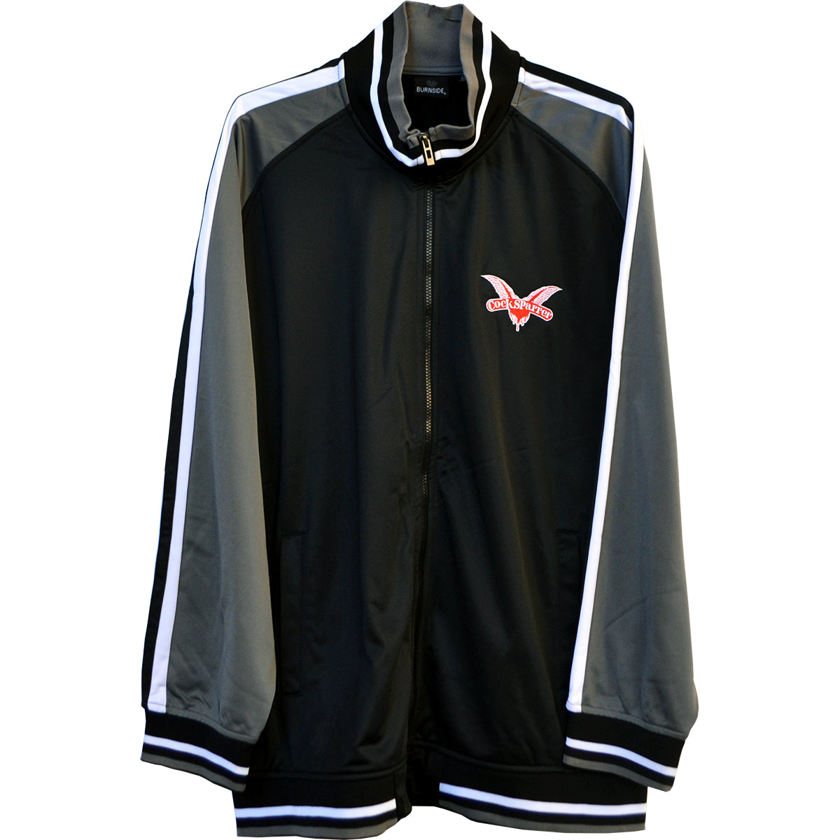 Cock Sparrer - Wings - Silver & Black - Track Jacket