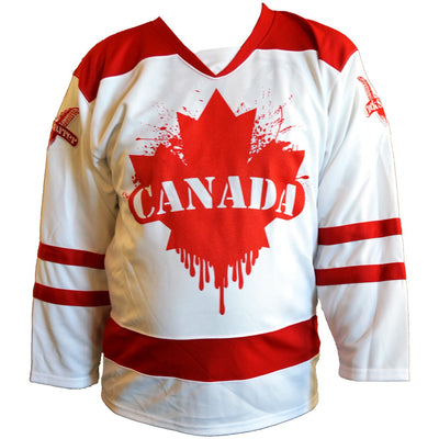 Cock Sparrer - Spirit of 76 - Canada Hockey Jersey