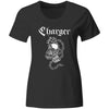 Charger - Chain - Black - T-Shirt - Fitted