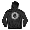 Pirates Press - Circle Logo - Pull-Over Hoodie - Black